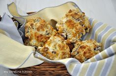 My Carolina Kitchen: Quick Ham and Cheese Biscuits – a low fat version of fast food breakfast