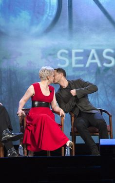 Ginnifer Goodwin and Josh Dallas at #D23 Expo - 15 August 2015