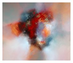 Eelco Maan, Morning ascending, 120 x 100 cm, mixed media on canvas / available at galerie Thyade, Rotterdam / http://www.thyade.nl/