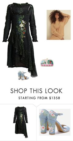 """Sem título #1815"" by ladysnowarlekina ❤ liked on Polyvore featuring Preen and Serpui"