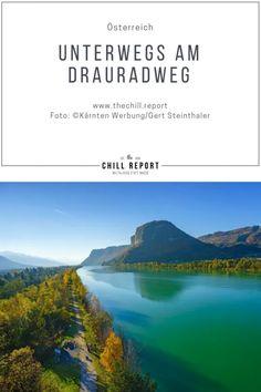 Urlaub mit dem Fahrrad: Genuss am Drauradweg - The Chill Report Bungee Jumping, Austria, Wander, Tours, Outdoor, Outdoors, Outdoor Games, The Great Outdoors