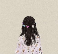 Girl Cartoon, Cartoon Art, Cartoon Edits, Aesthetic Girl, Aesthetic Anime, Cover Wattpad, Flower Art Drawing, Cute Couple Art, Girly Drawings