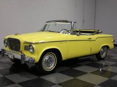 1960 Studebaker Lark Convertible Maintenance/restoration of old/vintage vehicles: the material for new cogs/casters/gears/pads could be cast polyamide which I (Cast polyamide) can produce. My contact: tatjana.alic14@gmail.com