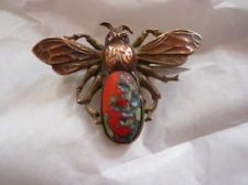 Signed GNS & CO George N Steere Antique Handcrafted Bee