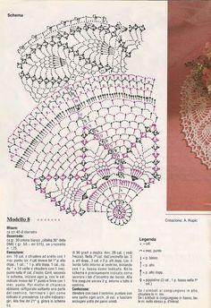 Victoria - Handmade Creations : Δαντέλες - Σχέδια