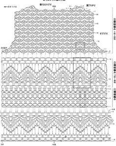 Fabulous Crochet a Little Black Crochet Dress Ideas. Georgeous Crochet a Little Black Crochet Dress Ideas. Crochet Video, Crochet Diagram, Crochet Chart, Crochet Motif, Crochet Lace, Crochet Stitches, Crochet Patterns, Crochet Tops, Crochet Symbols