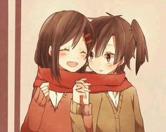 Ayano and Ene