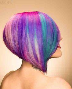 Unicorn hair pravana