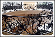 Paris - staircase in Petit Palais. So incredibly gorgeous!!