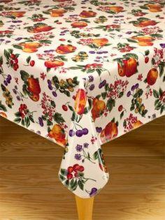 Etonnant Oilcloth Tablecloths