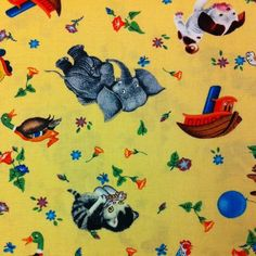 Little Golden Books Fabric 1-1/4 Yards -LAST PIECE-
