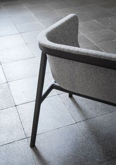 The Love Seat Features Subtle Curves Throughout The Seating Structure With  A Rigid Metal Framework For The Foundation.
