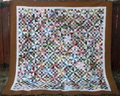Patches and Pinwheel #Quilt #tutorial by Bonnie K. Hunter from Quiltville
