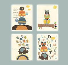 Baby boy room decor Nursery wall art print Baby by DesignByMaya, $65.00