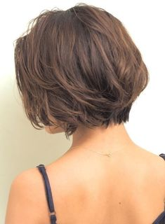 beautiful bob haircuts and hairstyles to upgrade your look page 10 Balage Hair, Cut My Hair, New Hair, Short Hair Lengths, Short Hair Cuts, Messy Short Hair, Medium Hair Styles, Curly Hair Styles, Androgynous Hair