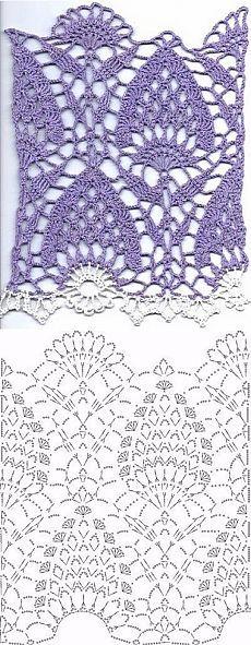 El crochet patrón de circuito