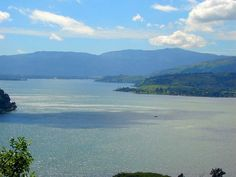 Amatitlan Lake where I grew up.