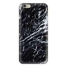 iPhone 6 Plus/6/5/5s/5c Case - Midnight Marble (£28) ❤ liked on Polyvore featuring accessories, tech accessories, coques, fillers, phone, phone case, iphone case, slim iphone case, apple iphone cases and iphone cover case