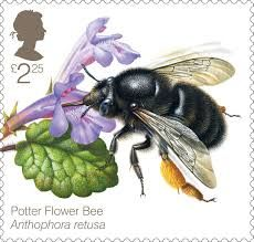 Image result for royal mail bee stamps