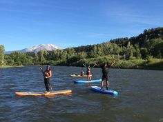 SUP Rentals for Every Occasion...Colorado & roaring fork rivers, lakes & beyond!