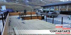 PROYECTOS | #modular #profesional módulos bar & servicios wc & terraza elevada >> rematando la instalación... #Formigal #SallentDeGallego #HUESCA · para Aramón Formigal-Panticosa Marchica Formigal