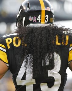 Pittsburgh Steelers~✌ Troy Polamalu Picture at NFL Photo Store