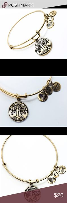 """Alex and Ani Tree of Life EWB RG New without Tags!!                                                                                               Pictures by me!                                                                               ALEX AND ANI products are proudly designed&crafted in America&made with love. ALEX AND ANI products are infused with positive energy. Ancients referred to this precious energy as """"chi"""" & """"prana,"""" whereas modern science refers to it as vital force. It is…"""