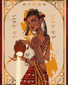Fruit of the Soil 🌾 A personification of Philippines as a Katutubo woman with elements from the different tribes of the country. Filipino Art, Filipino Tribal, Filipino Culture, Philippine Mythology, Philippine Art, Baybayin, Philippines Culture, Wow Art, Character Design Inspiration