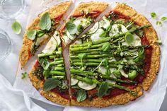 Ricetta per una pizza senza Farina - Senza glutine - Tibiona blog