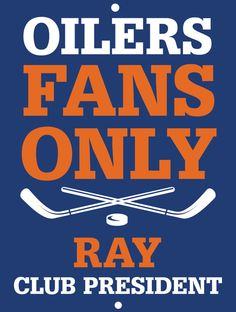 Oilers Custom Personalized Bar Sign  by thepersonalizedstore #ManCave #FathersDay #Groomsmen