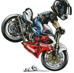Moto Bike, Motorcycle Art, Bike Art, Bike Freestyle, Car Rider, Stunt Bike, Bike Tattoos, Chopper Bike, Road Racing