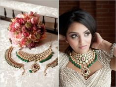 Indian wedding jewelry - Photographer: Tegan Martin-Drysdale