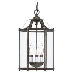 Heirloom Bronze Three Light Pendant Seagull Lantern Pendant Lighting Ceiling Lighting