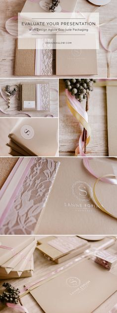 Elevate your studio presentation with luxe packaging from Design Aglow. #designaglow