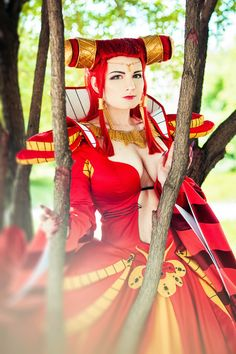Carmilla Countess (Vampire hunter D) Cosplay by RedzeSama