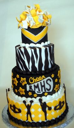State Cheerleading Competition Dinner By SweetieVie on CakeCentral.com