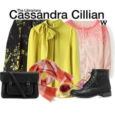 Wear What You Watch : outfit inspired by Cassandra Cillian from The Librarians