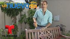 Arregla tus muebles de exterior sin gastar una fortuna | Un Nuevo Día | ...