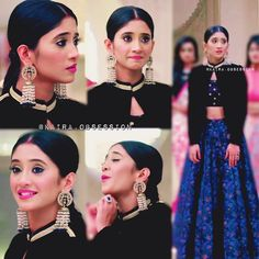 """""""Different shades of Naira ~ Her outfit tho Western Gown, Western Dresses, Different Dresses, Types Of Dresses, Pakistani Outfits, Indian Outfits, Indian Designer Outfits, Designer Dresses, Indian Gowns"""