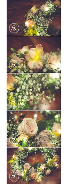 Flower Wreath with Copper light by Kylie Currie | Creative