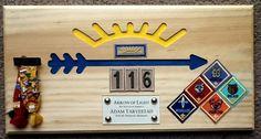 Webelo Boy Scout Arrow of Light Plaque Award BSA   eBay
