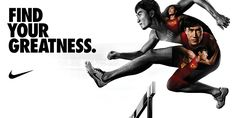 Nike 2012 Olympic Campaign Visuals - GC on Behance