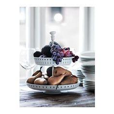 IKEA - GARNERA, Bandejas servir, 2 alturas, Ideal para presentar queso, pastas y frutas como si fuera una fiesta.