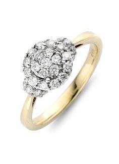 Classic gouden ring