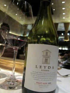 Vinho chileno... já tomei várias vezes porque é uma delícia. Tb pinot noir reserva.