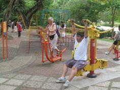 speeltuin voor ouderen