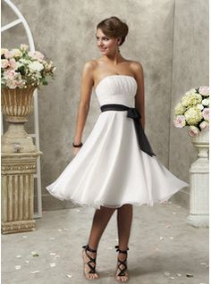 make it a dark blue with a white lace sash and we have a winner<3