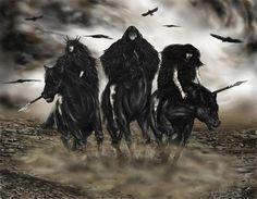 The Morrigan, Macha and Badb