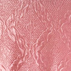 Embossed Diamond Taffeta Pink 54 Inch Wide Fabric by the Yard, 1 yard