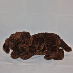 0c3fc677663 2001 Ty Classic Nuzzle Chocolate Lab Puppy Dog Plush Beanie Babies